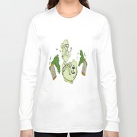 popeye Long Sleeve T-shirts featuring Popeye  by ItalianRicanArt