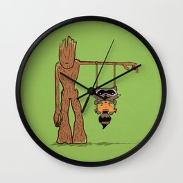 Come Swing With Me Wall Clock