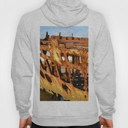 The Wreck of the Peter Iredale Hoody