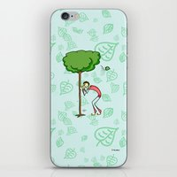 coconut wishes iPhone & iPod Skins featuring Wishes by Giuseppe Lentini