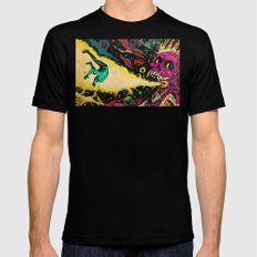 Interstellar Overdrive  Mens Fitted Tee Black SMALL