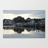 boats Canvas Prints featuring boats by thomsjohns