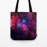 galaxy Tote Bags featuring Galaxy! by Matt Borchert