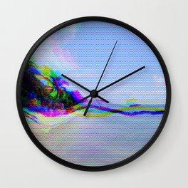 Trip 2 Paradise Wall Clock