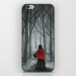 Red Hood iPhone Skin