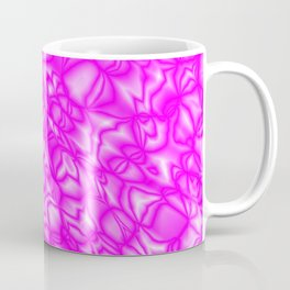 Chaotic pink soap bubbles with a pattern of mirrored light borders Coffee Mug