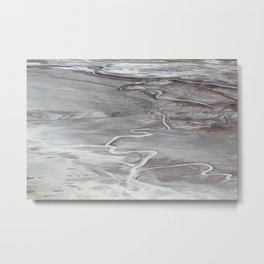 Death Valley Badwater Basin Metal Print