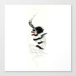 UnHuman#14 Canvas Print