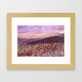 Lake Windermere Shore, The Lake District - Nature Photography Framed Art Print