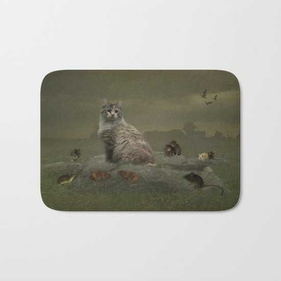 The Mouser Bath Mat