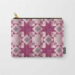 Violet quilt Carry-All Pouch