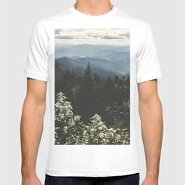 Smoky Mountains - Nature Photography T-shirt