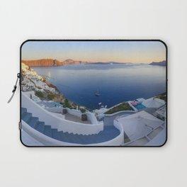 Stairways in Oia Santorini Laptop Sleeve