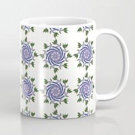 Swirls & Flowers-Purple Coffee Mug