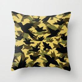 Bird Camouflage 5 Throw Pillow