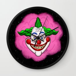 Killer Klown From Outer Space Wall Clock