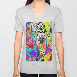 INDIAN ELEPHANT Unisex V-Neck