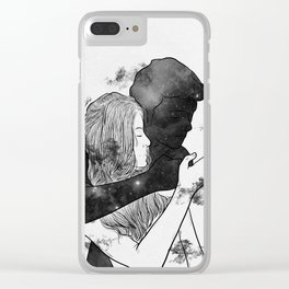 Cigarette smell. Clear iPhone Case