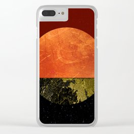 Abstract #157 Clear iPhone Case