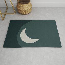 Moonrise Minimalism - Jade Rug