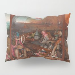 "Hieronymus Bosch ""The Last Judgment"" triptych (Bruges) Pillow Sham"