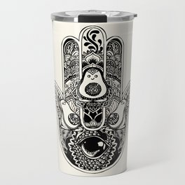Hamsa Hand Avocado Travel Mug