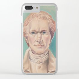 Hamilton in Uniform Clear iPhone Case