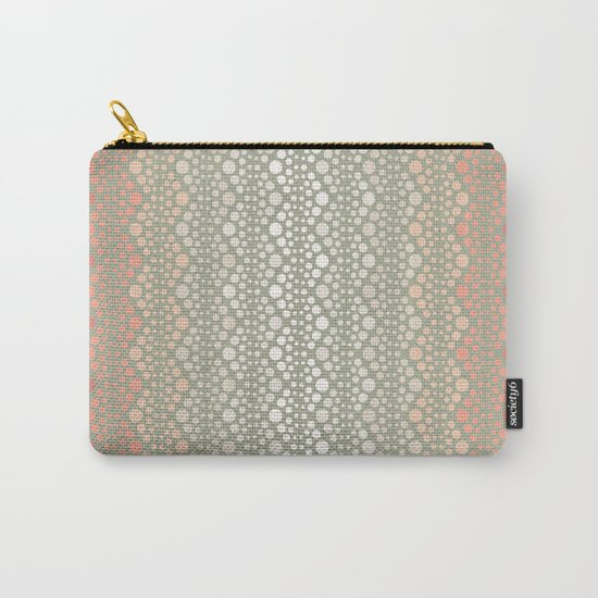 Retro Dotted Pattern 06 Carry-All Pouch