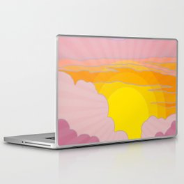 Sixties Inspired Psychedelic Sunrise Surprise Laptop & iPad Skin