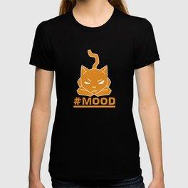 #MOOD Cat Orange T-shirt