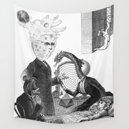 Death & the Daughters of Beasts Wall Tapestry