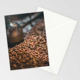 Roasted Coffee 4 Stationery Cards