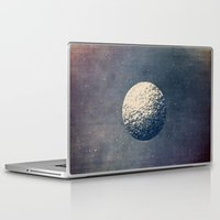 the moon Laptop & iPad Skins featuring Moon by Tracie Andrews