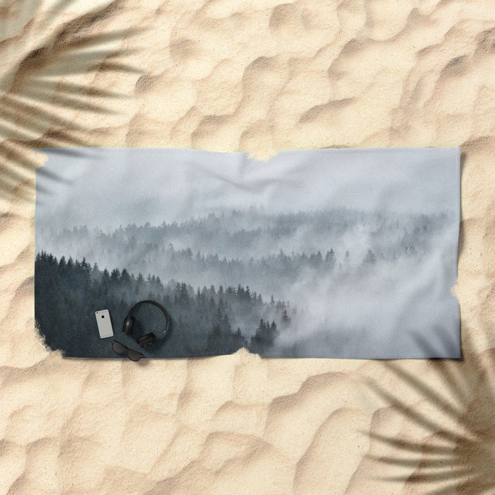The Waves Beach Towel