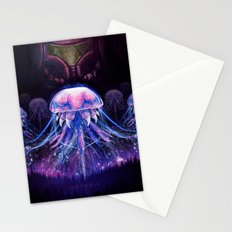 Samus and the Metroid Stationery Cards