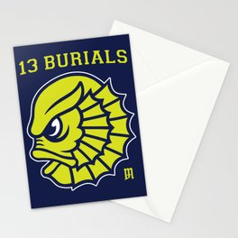 13 Burials - Go Creatures! Stationery Cards