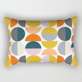 Moon Modern Art Rectangular Pillow