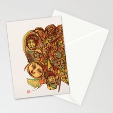 Somebody's Family Portrait Stationery Cards