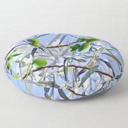 Olives in the sunshine Floor Pillow