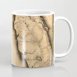 Map Of Florida 1823 Coffee Mug
