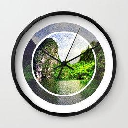 Trang An Ninh Binh Vietnam Landscape Wall Clock