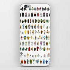 Pixel Wars iPhone & iPod Skin