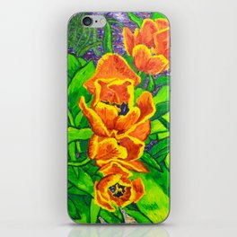 View of Tulips iPhone Skin