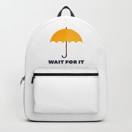 How I Met Your Mother - Wait for it - Yellow Umbrella Backpack