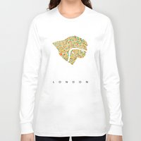 london Long Sleeve T-shirts featuring London by Nicksman