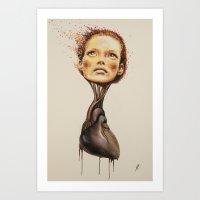 heart and soul Art Print