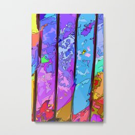 Let's Compartmentalise  Metal Print