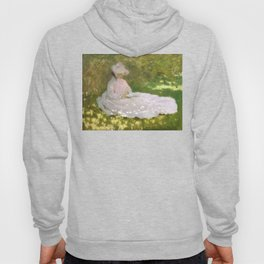 Springtime by Claude Monet Hoody