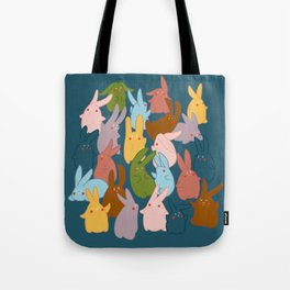 Bunnies be hanging out Tote Bag