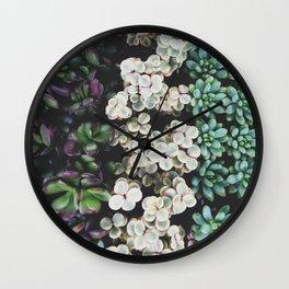 Succulent (4) Wall Clock